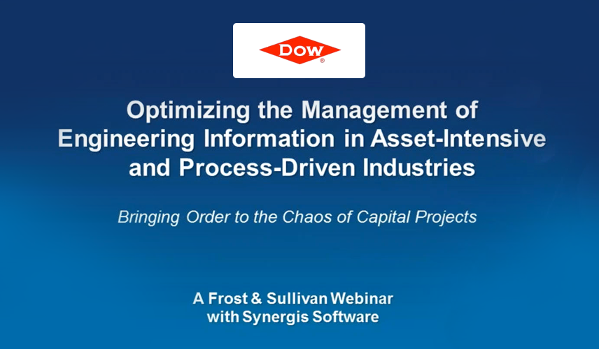 Optimizing the Management of Engineering Information in Asset-Intensive and Process-Driven Industries